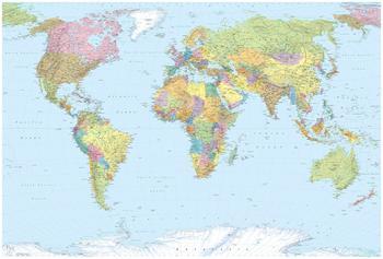 Komar World Map 248 x 368 cm (XXL4-038)
