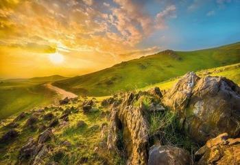 Komar Mountain Morning 368 x 254 cm (8-525)