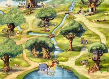 Komar Disney Hundertmorgenwald 254 x 184 cm (4-453)