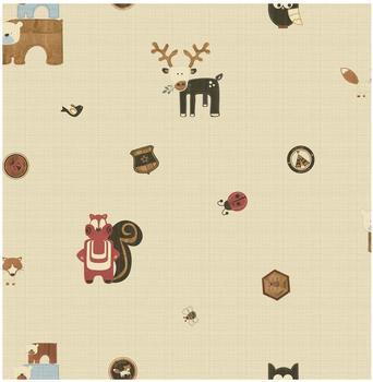 Graham & Brown Woodland Critters Wallpaper Kollektion Kids@HOME IV (50-573)