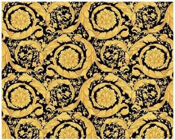 Versace Barocco Flowers metallic schwarz (935834)