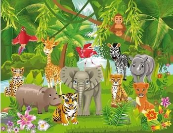 PaperMoon Kids Jungle Animals 250x180 cm