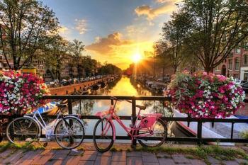 PaperMoon Amsterdam Sunrise 350x260 cm