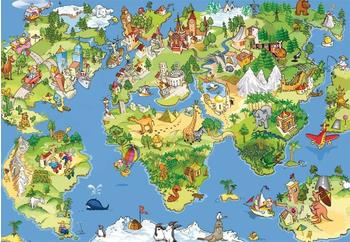 PaperMoon Kids World Map 250x180 cm
