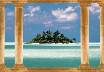 PaperMoon Palmeninsel Malediven 350x260 cm