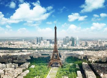 PaperMoon Eiffel Tower 350x260 cm