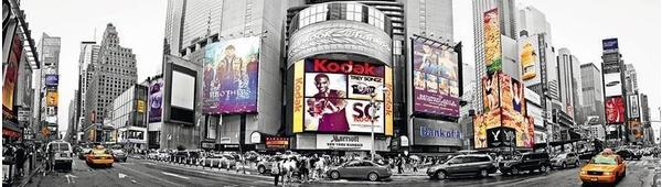 PaperMoon New York Time Square 350 x 100 cm