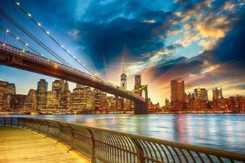 PaperMoon Manhattan Sunset 350 x 260 cm