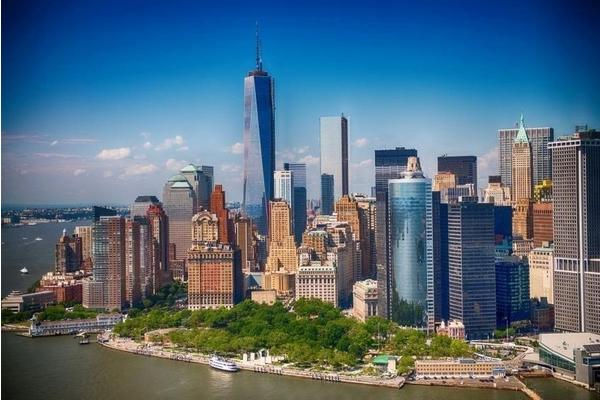 PaperMoon Lower Manhattan Skyline 350 x 260 cm