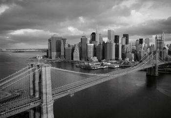 PaperMoon Brooklyn Bridge black/wh 350 x 260 cm
