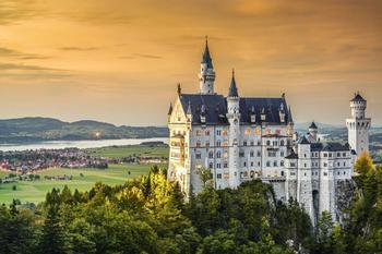 PaperMoon Neuschwanstein Castle 350 x 260 cm