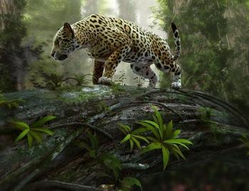 PaperMoon Jaguar on the Prowl 350 x 260 cm