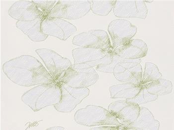 Livingwalls Jette Joop 3 Blume grün (959882)