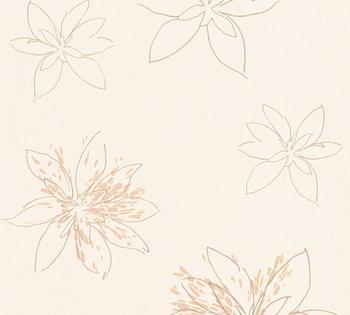 A.S. Creation Fiore beige braun metallic (325822)