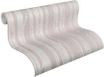 A.S. Creation Scandinavian Style Stämme grau weiß (34135-1)