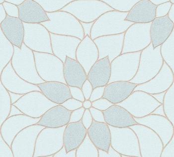 A.S. Creation Neue Bude 2.0 Blumenornament 10,05 x 0,53m (3617-14)