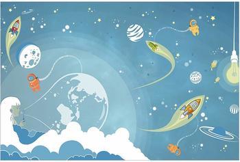 Apalis Buntes Weltraumtreiben 2,55 x 3,84m (94745)