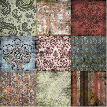 Apalis Old Patterns 2,4 x 2,4m (95424-2)