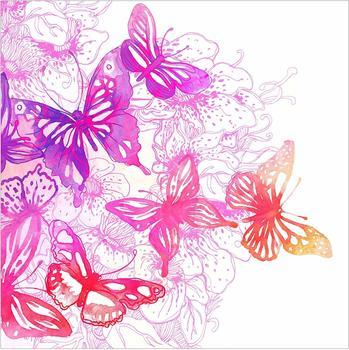 Apalis Schmetterlingstraum 2,88 x 2,88m (95451)