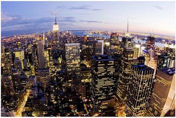 Apalis New York Skyline bei Nacht 3,2 x 4,8m (94733-5)