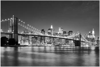 Apalis Nighttime Manhattan Bridge II 2,9 x 4,32m (94735-4)