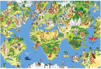 Apalis Great And Funny Worldmap 2,55 x 3,84m (94664)