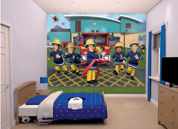 Walltastic Wallpaper Fireman Sam 43770