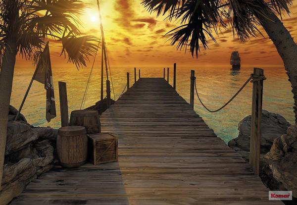 Komar Photomural Treasure Island