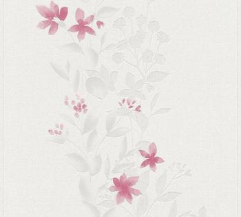 A.S. Creation Blooming 10,05 x 0,53 m beige rot grau (37266-4)