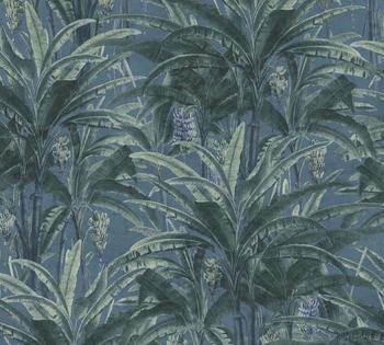 A.S. Creation Greenery 10,05 x 0,53 m blau grün (36480-1)
