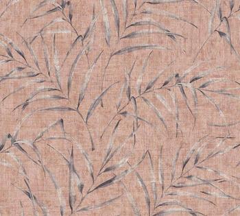 A.S. Creation Greenery 10,05 x 0,53 m orange rot rosa (37335-4)