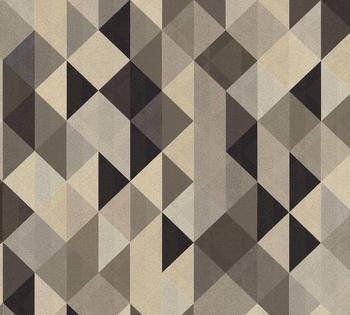 A.S. Creation Scandinavian 2 10,05 x 0,53 m braun schwarz (36786-4)