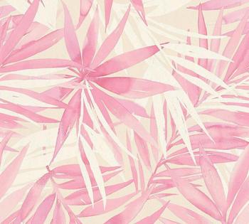 A.S. Creation Designdschungel by Laura N. 10,05 x 0,53 m beige rosa weiß (341253)