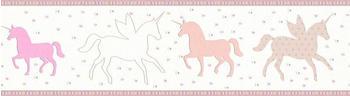 A.S. Creation Esprit Kids Unicorns 5 x 0,17 m beige rosa creme (35705-1)