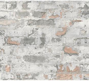 A.S. Creation Metropolitan Stories Mauerwerk grau 369292