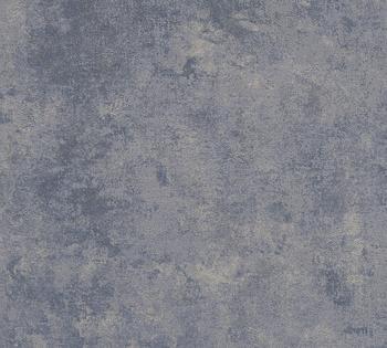 Livingwalls New Walls Urban Grace Vintage Uni Optik - uni, blau (84087968)