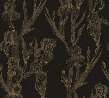 Daniel Hechter floral, botanisch, mit Blumen, gelb-schwarz (92712148)