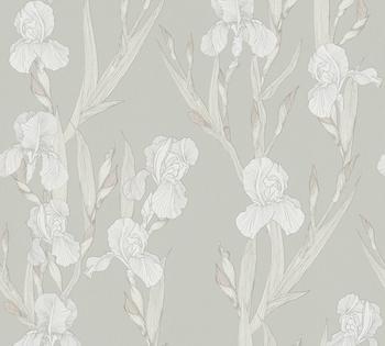 Daniel Hechter floral, botanisch, mit Blumen, weiß-grau (78147849)