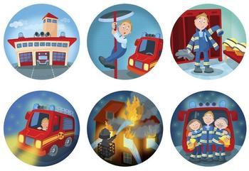 Haba Taschenlampen-Projektor Feuerwehreinsatz