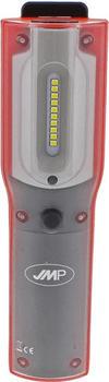 JMP Akku LED-Handlampe 5W/10 LEDs mit Klappfuß