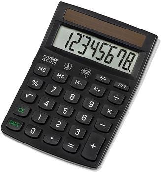 citizen-ecc-210-desktop-taschenrechner-8-stellen-solarpanel-schwarz