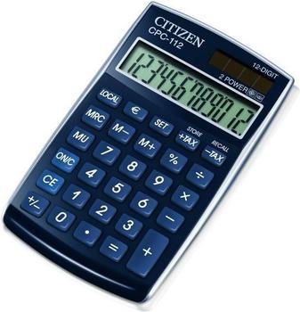 citizen-cpc-112-tischrechner-blau