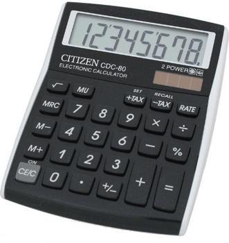 citizen-cdc-80-tischrechner-schwarz