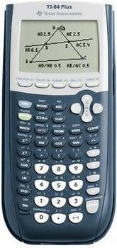 Texas Instruments TI-84 PLUS Grafikrechner Schwarz, Grau batteriebetrieben (B x H x T) 89 x 27 x 192