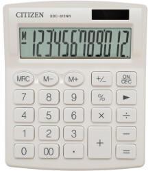 Citizen 7242502 Tischrechner Weiß Display (Stellen): 12 batteriebetrieben, solarbetrieben (B x H x