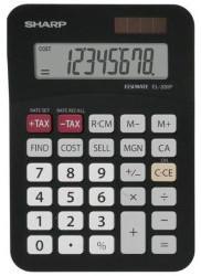 Sharp EL-330FBBK Taschenrechner Tasche Einfacher Taschenrechner Schwarz