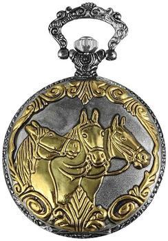Excellanc Analog Taschenuhr Pferde bicolor (480312000001)