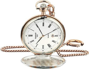 Tissot Analog Swiss Quartz Pocket Watch T8624102901300