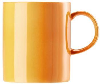 Thomas Becher mit Henkel groß Sunny Day Orange
