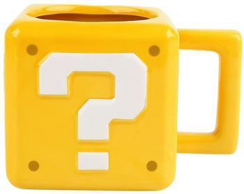 Paladone Super Mario Fragezeichen-Block Becher 300ml